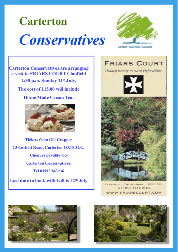 Afternoon Tea Flyer